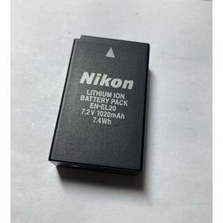 Nikon - Nikon EN-EL20 純正バッテリーV3可中古