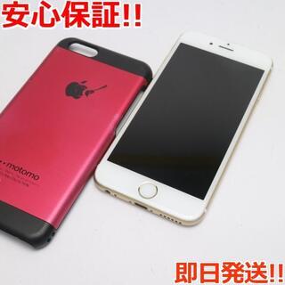 アイフォーン(iPhone)の美品 DoCoMo iPhone6S 16GB ゴールド 白ロム(スマートフォン本体)
