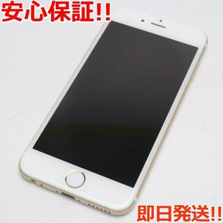 アイフォーン(iPhone)の美品 SOFTBANK iPhone6 64GB ゴールド 白ロム(スマートフォン本体)