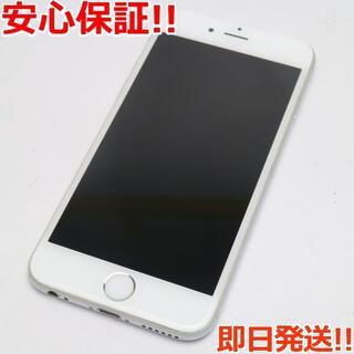アイフォーン(iPhone)の良品中古 SOFTBANK iPhone6 64GB シルバー 白ロム(スマートフォン本体)