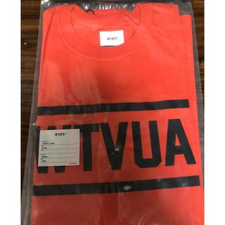 ダブルタップス(W)taps)のダブルタップス WTAPS WTVUA TEE Tシャツ オレンジ ORANGE(Tシャツ/カットソー(半袖/袖なし))