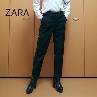 ZARA - セール価格!!ZARA 綺麗目アンクルカーゴパンツ