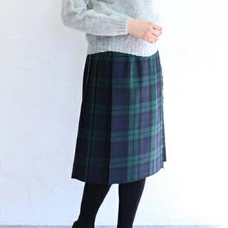 オニール(O'NEILL)の【新品】O'NEIL of DUBLIN ブラックウォッチスカート サイズ10(ひざ丈スカート)