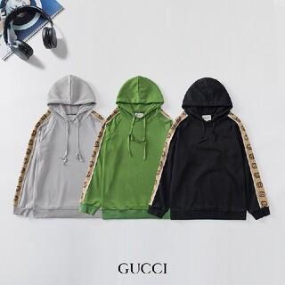 Gucci - 【2枚12000円】 GUCCI パーカー  長袖 男女兼用 15