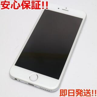 アイフォーン(iPhone)の美品 SOFTBANK iPhone6 128GB シルバー (スマートフォン本体)
