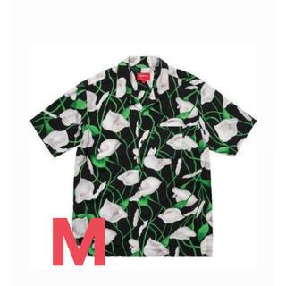 Supreme - supreme lily rayon shirt M