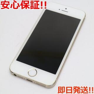 アイフォーン(iPhone)の美品 判定○ iPhone5s 32GB ゴールド (スマートフォン本体)