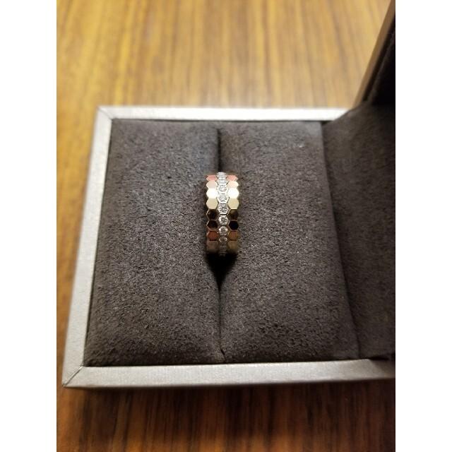 CHAUMET(ショーメ)のBee My Love「ビー マイ ラブ」コレクション ハニカムリング レディースのアクセサリー(リング(指輪))の商品写真