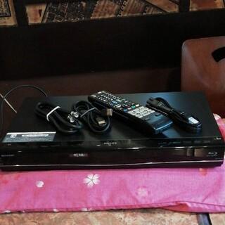 シャープ(SHARP)のSHARP AQUOS BD-S550 12倍録 500GB リモ等付 感動品!(ブルーレイレコーダー)
