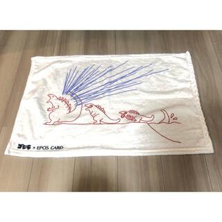 エポス(EPOS)のゴジラ エポスカード ふわふわブランケット(おくるみ/ブランケット)