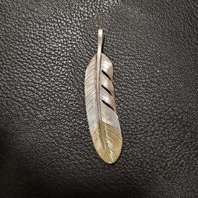 鷲見太郎 先金フェザー L メンズのアクセサリー(ネックレス)の商品写真