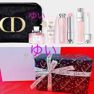 Dior - ディオールホリデーオファー2020クリスマスオファー限定品ポーチコフレ新品未使用
