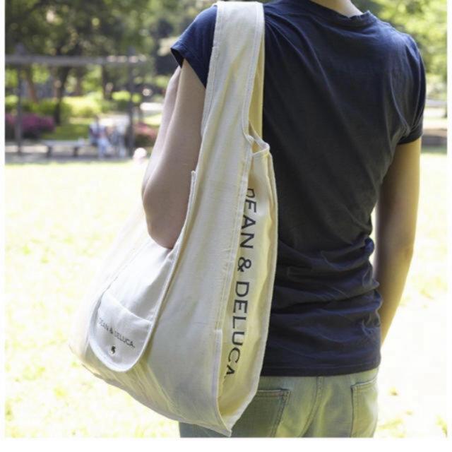 DEAN & DELUCA(ディーンアンドデルーカ)のDEAN & DELUCA ショッピングバッグ ブラック レディースのバッグ(エコバッグ)の商品写真