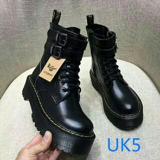 Dr.Martens - UK5ドクターマーチン Dr.Martens 新品/厚底ブーツ 革靴 ファション
