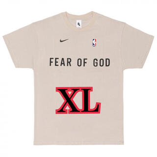FEAR OF GOD - Nike x Fear of God オートミール ウォームアップ Tee