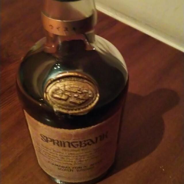 スプリングバンク30年 食品/飲料/酒の酒(ウイスキー)の商品写真