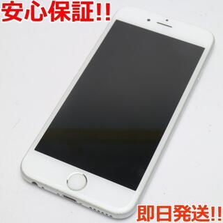 アイフォーン(iPhone)の美品 SIMフリー iPhone6S 16GB シルバー (スマートフォン本体)