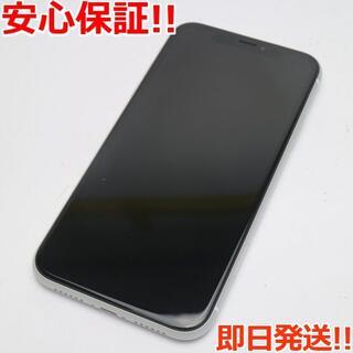 アイフォーン(iPhone)の超美品 SIMフリー iPhoneXR 64GB ホワイト 白ロム (スマートフォン本体)