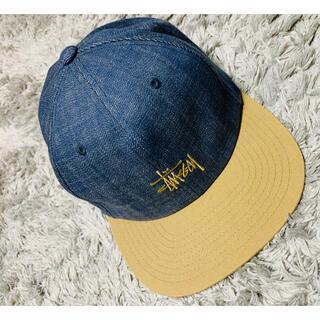 STUSSY - ステューシー キャップ 帽子 デニム