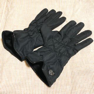 アナスイ(ANNA SUI)のアナスイ 手袋 ブラック 未使用品(手袋)