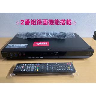 SHARP - シャープ ブルーレイレコーダー BD-HW51 500GB 2番組同時録画⭐︎