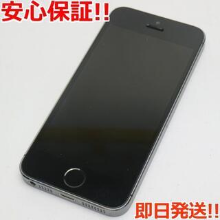 アイフォーン(iPhone)の美品 DoCoMo iPhone5s 16GB グレー ブラック(スマートフォン本体)