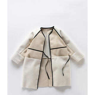 ENFOLD - 新品!ナゴンスタンス フェイクムートン コート