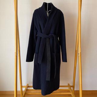 DOUBLE STANDARD CLOTHING - ソブ Sov.  リバーシブル イタリア製糸使用 ウール コート
