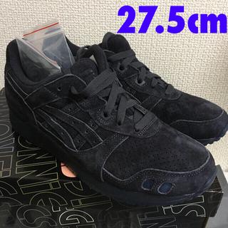 アシックス(asics)のネイビー濃紺色 新品27.5cm kith asics gel-lyte3 キス(スニーカー)