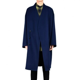 LAD MUSICIAN - LAD MUSICIAN COLLARLESS BIG CHESTER COAT