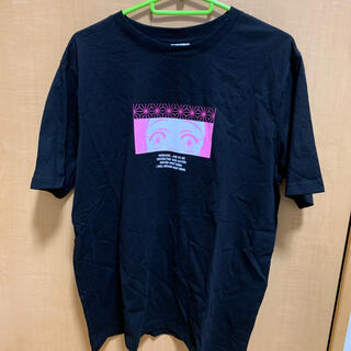 GU - 鬼滅の刃 禰豆子 Tシャツ 黒 L