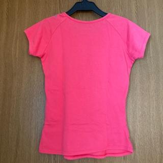 リーボック(Reebok)のReebok Tシャツ フィットネス スポーツ ウェア ピンク ハート(Tシャツ(半袖/袖なし))