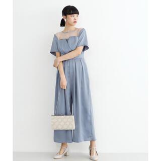 メルロー(merlot)の【新品未使用】オールインワンドレス 結婚式やフォーマルイベントへ最適なドレスです(オールインワン)