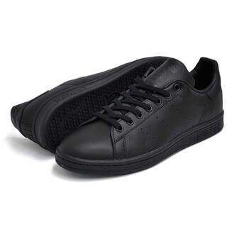 adidas - adidas STAN SMITH/BLACKxBLACK/M20327