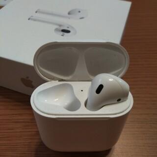 Apple - Apple AirPodsアップルエアーポッズ第1世代の右側1個と充電ケース箱付