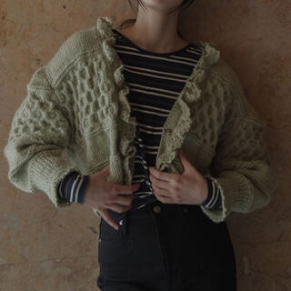 BEAUTY&YOUTH UNITED ARROWS - 【完売】20aw MEER. Handmade knit cardiganメーア