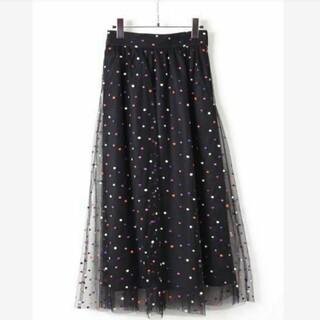 GRACE CONTINENTAL - 人気完売品 diagram チュールドットスカート