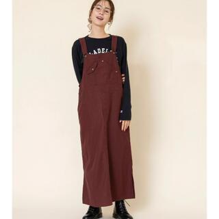coen - 《今季》coen(コーエン)のワークサロペットスカート ジャンパースカート