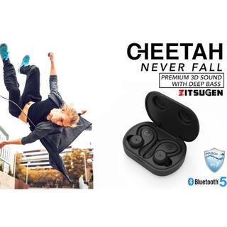 【新品・未開封】スポーツ用ワイヤレスイヤホン 「CHEETAH」IPX7完全防水