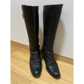 BARCLAY - BARCLAYバークレー ロングブーツ 黒 24.5cm