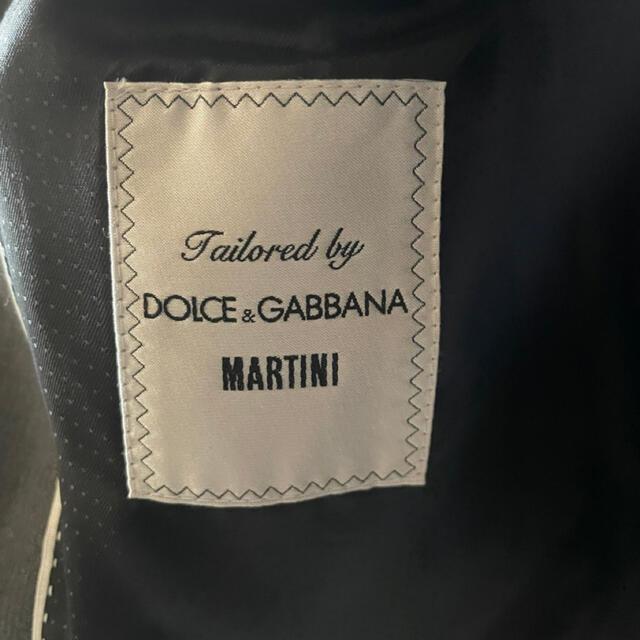 DOLCE&GABBANA(ドルチェアンドガッバーナ)の【正規品】ドルガバ ドルチェ&ガッパーナ ピークドラペル【未使用】 メンズのジャケット/アウター(テーラードジャケット)の商品写真