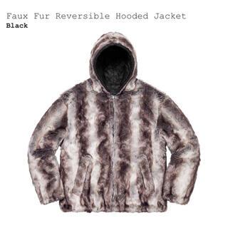 Supreme - supreme Faux Fur hooded jacket XLサイズ