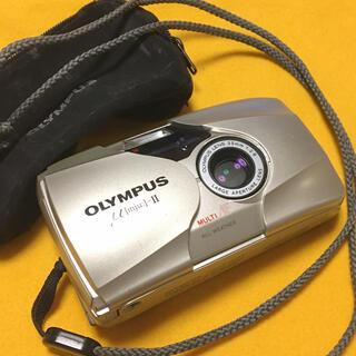 OLYMPUS - OLYMPUS μ II オリンパス ミュー2 単焦点 高級コンパクトカメラ