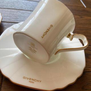 ジバンシィ(GIVENCHY)のジバンシー  カップ&ソーサー 2客(食器)