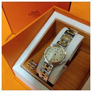 Hermes - 努09様専用 エルメス時計 極極美品 クリッパー ・ レディース