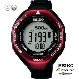 セイコー(SEIKO)のSEIKOアルピニスト SBEB003 プロスペックス 【登山用】(腕時計(デジタル))