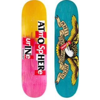 シュプリーム(Supreme)のSupreme®︎/ANTIHERO®︎ Skateboard ピンク(スケートボード)