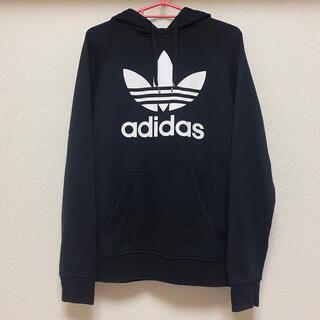 adidas - adidas アディダスオリジナルス パーカー ブラック M