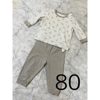 UNIQLO - UNIQLO(ユニクロ)キッズパジャマ ベビー服 男の子 女の子 80