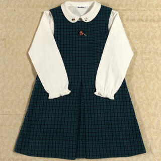 familiar - familiar    ワンピース & 長袖ブラウス  size  120cm